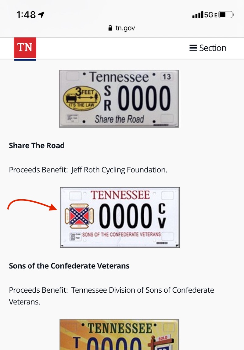 A white Southern woman on why the Confederate flag must go: Contact your state's DMV and ask them to remove Confederate flag vanity plates.