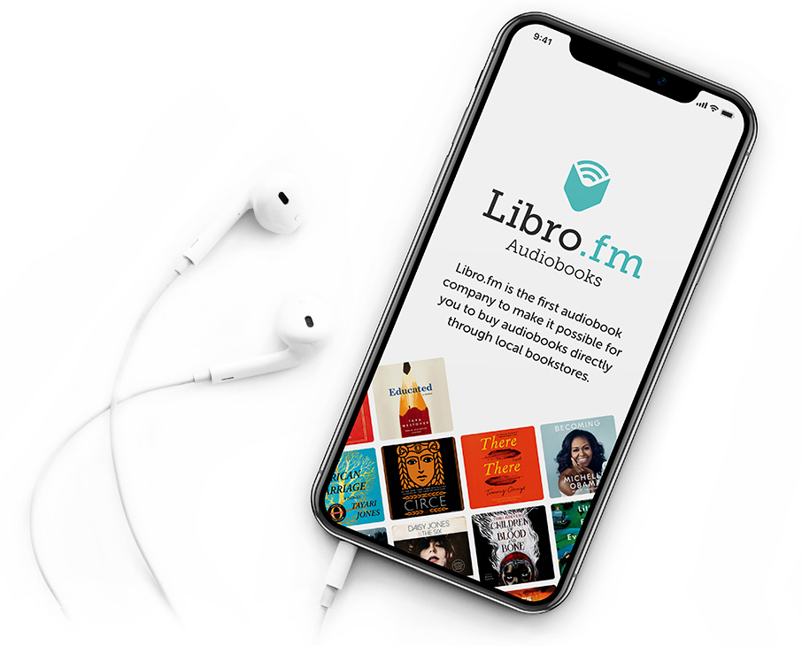Libro . FM is the audiobook app supporting indie bookstores