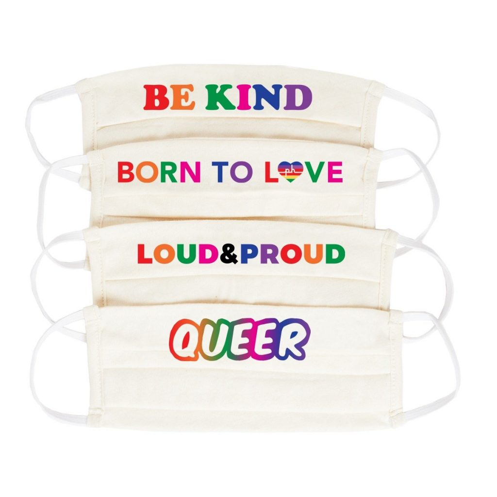 Pride Masks from The Phluid Project