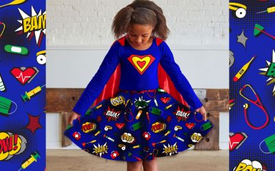 This wonderful new kids clothing collection celebrates medical superheroes. Diagnosis: adorable!