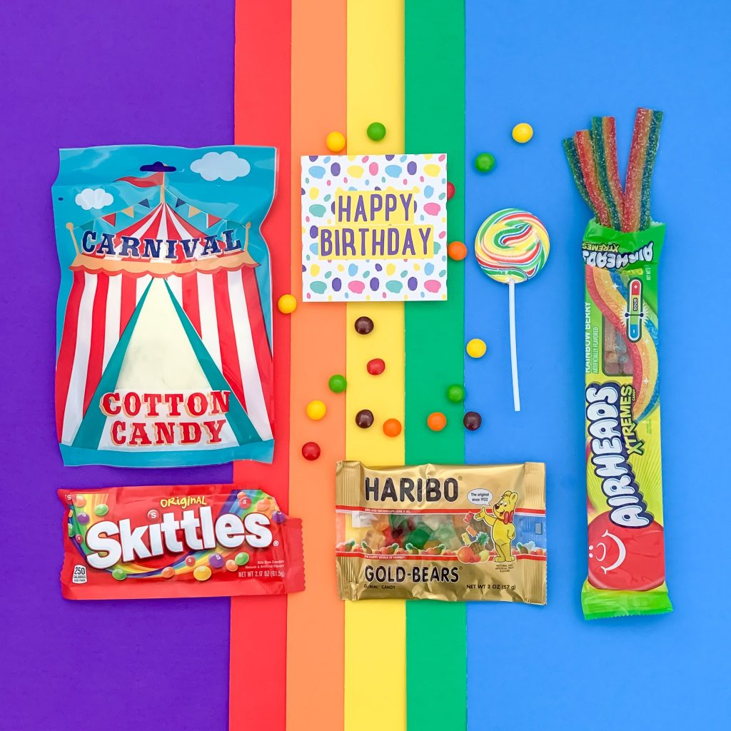 Mail a Brightbox Candy Lovers box to someone special: They're affordable and thoughtful!
