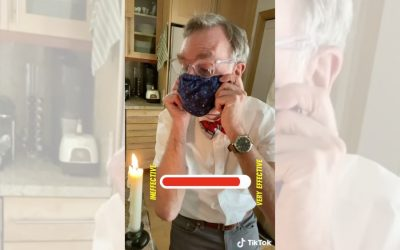 Stop everything and watch Bill Nye's super-simple explanation of how face masks protect us right now