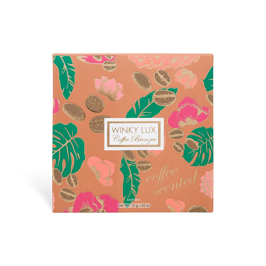 Winky Luxe coffee scented bronzer, now at Target