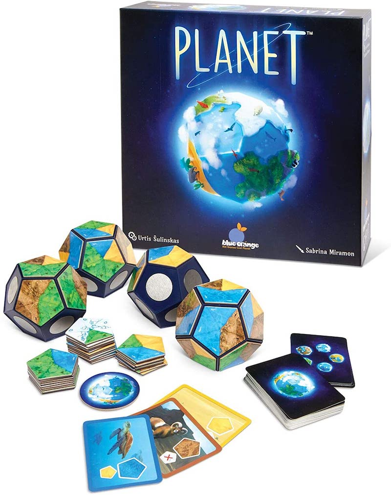 Best educational board games for homeschool: Planet is a fun way to learn science