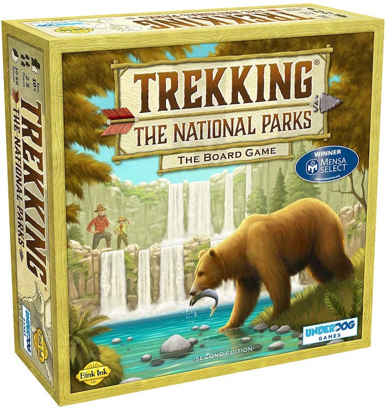 Educational board games the family will love: Trekking the National Parks is a wonderful way to learn about US geography