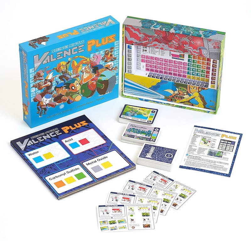 Best educational board games for homeschool: Valence Plus is such a fun way to learn chemistry concepts