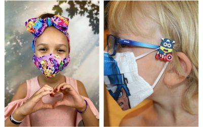 7 cool face mask accessories for kids, to help them keep their masks to themselves