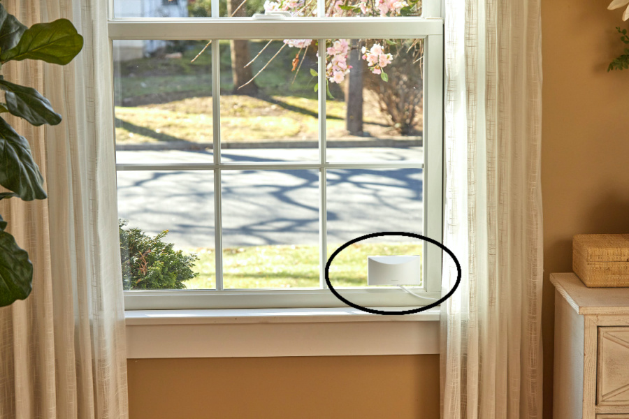 Finally, a security camera that monitors the outside of your home securely from inside your home | Sponsored Message