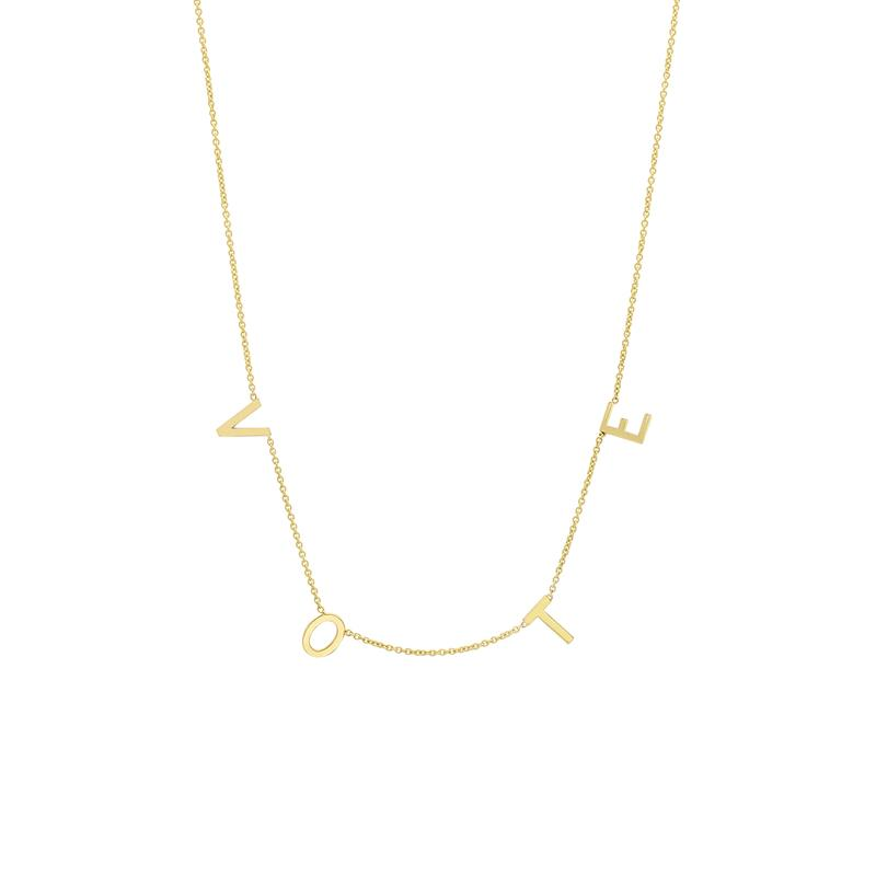 Where to buy Michelle Obama's VOTE necklace that we all adore
