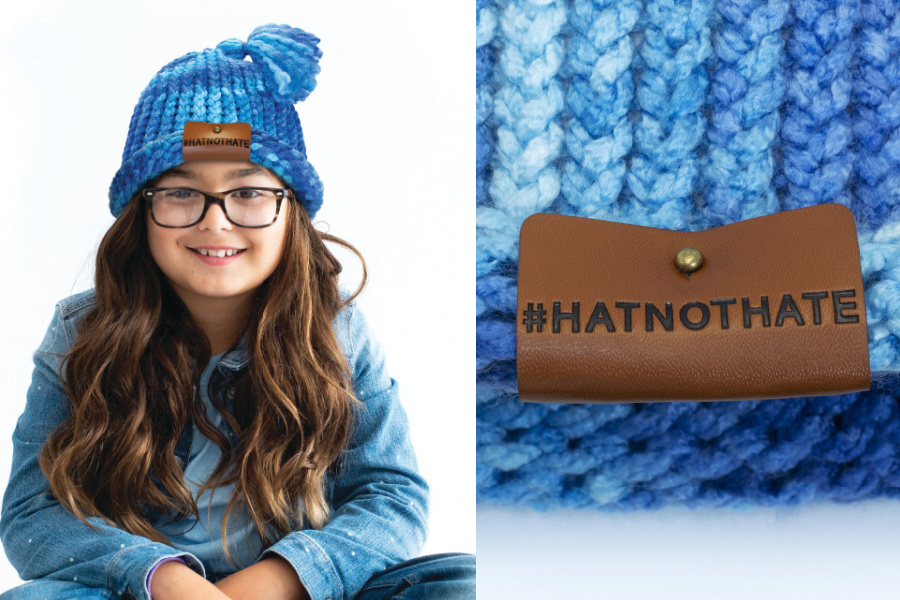 No hate: A kids' craft kit supporting a message we can all agree on.