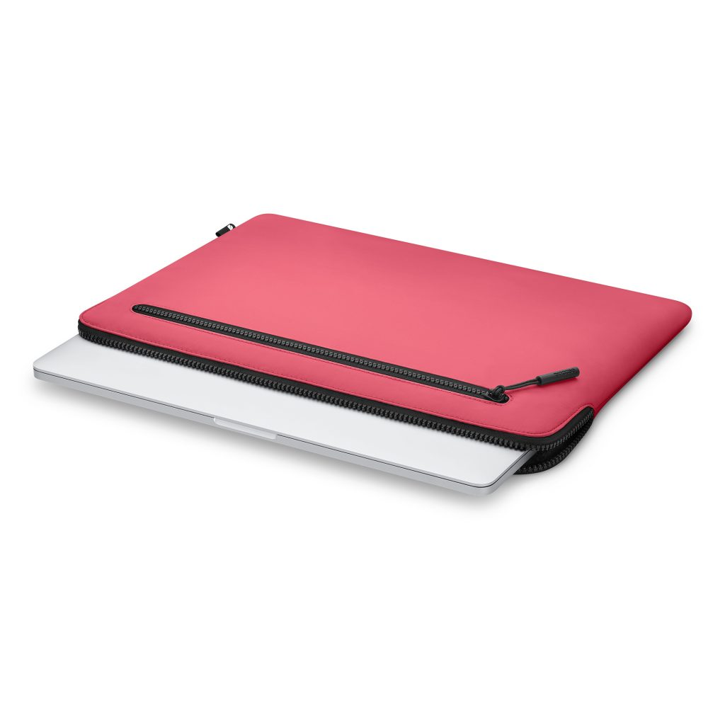 Features to look for in a protective laptop sleeve: A great fit and soft interior, like you find from this InCase sleeve