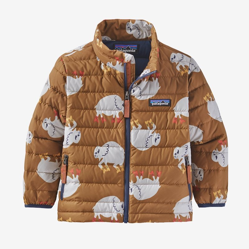 Patagonia's Baby Down Sweather Jacket is a warm but not-too-puffy jacket for kids that's made for handing down forever
