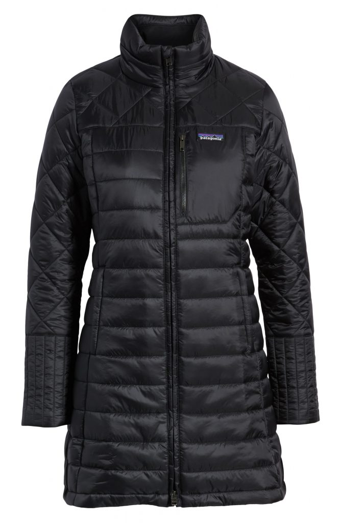 Patagonia's long Radiale Parka comes in a gorgeously flattering silhouette but still keeps you warm for fall.