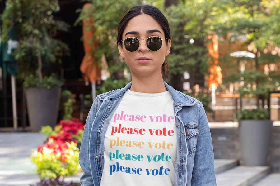 What you can and CAN'T wear to the polls: Don't get turned away on Election Day!