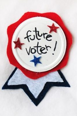 Future Voter craft for kids by Fun Family Crafts
