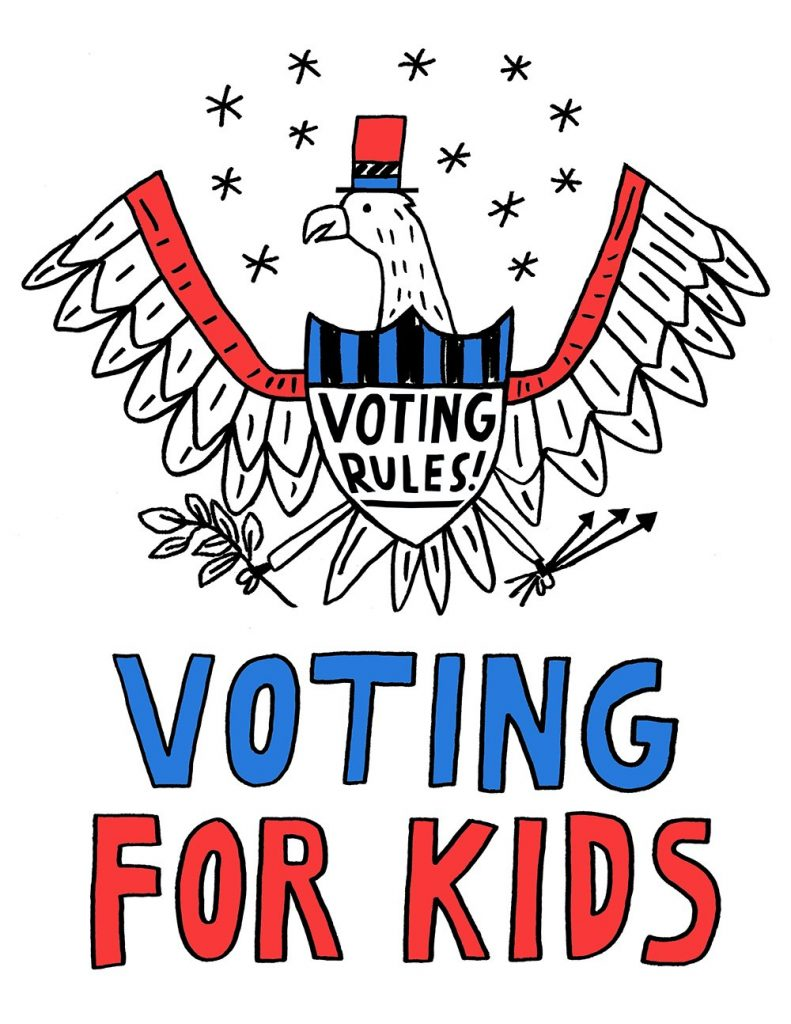 Voting For Kids activity by Treehouse Kid and Craft
