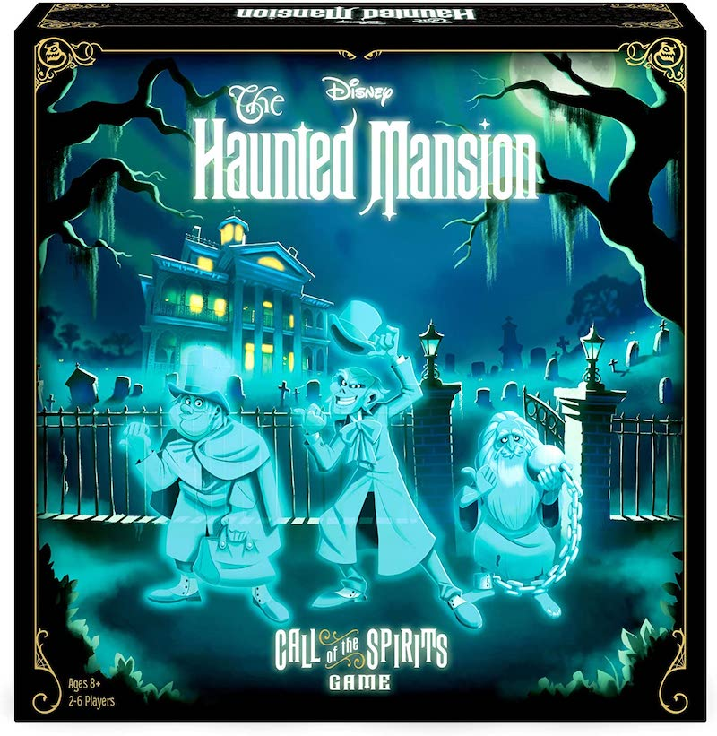 Spooky Halloween board games: Disney's Haunted Mansion: Call of the Spirits