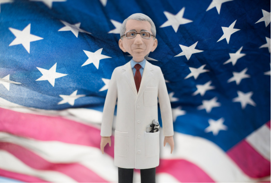 Presenting the Dr. Fauci action figure. Because, 2020.