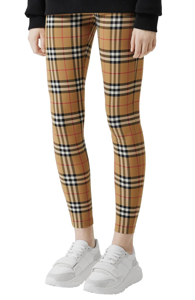 Stylish leggings you can wear as pants: Burberry's huge splurge!