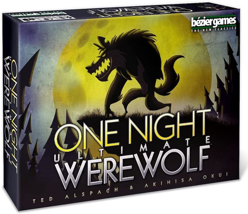 Fun, scary board games for Halloween : One Night Ultimate Werewolf is the ultimate party game