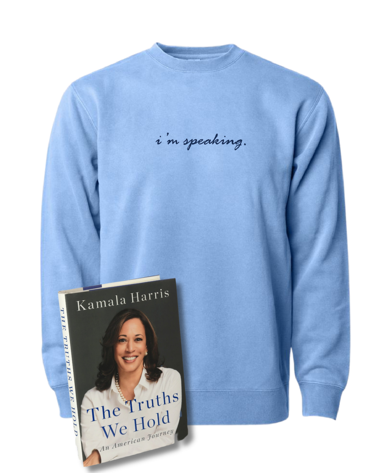 "Our top 10 holiday gifts for women in 2020: ""I'm Speaking"" shirt from Phenomenal, and the Kamala Harris memoir 