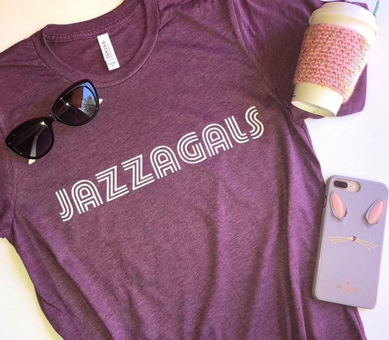 Schitts Creek gift: Love this soft Jazzagals tee-shirt from Deep In The Heart Tees