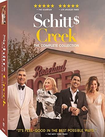 Give them all six seasons of Schitt's Creek in one box set