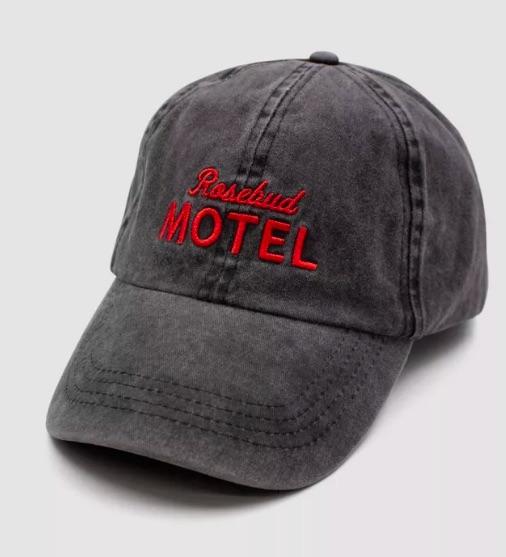 This Rosebud Motel baseball cap from Target makes a great gift for a Schitt's Creek fan