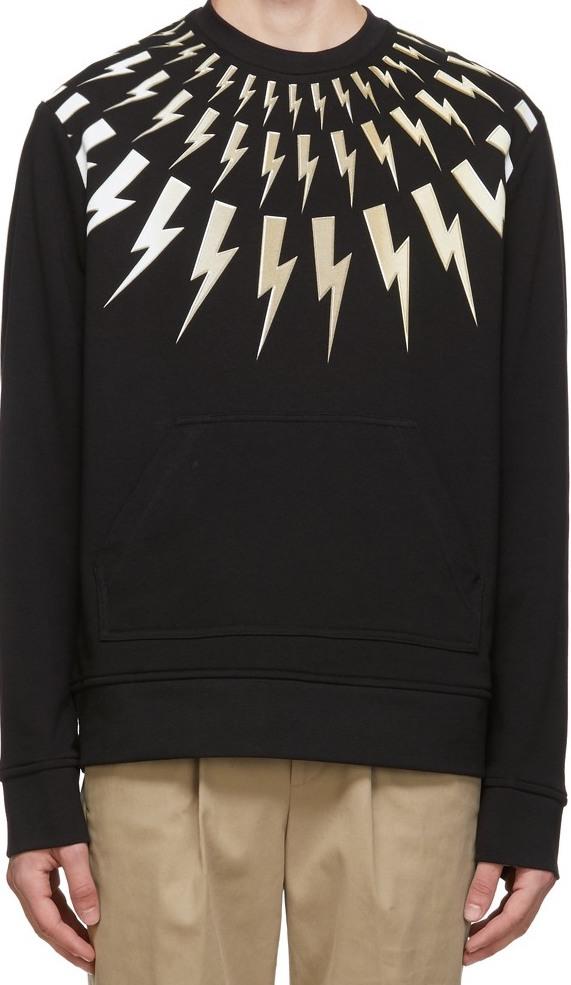 Schitt's Creek gift: the iconic Neil Barrett lightning bolt sweater that David Rose wore