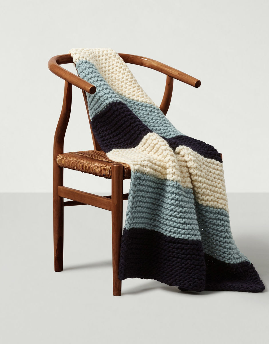 10 best gifts for grandparents from small businesses: Hand-knit blanket pattern and supplies from Wool and the Gang
