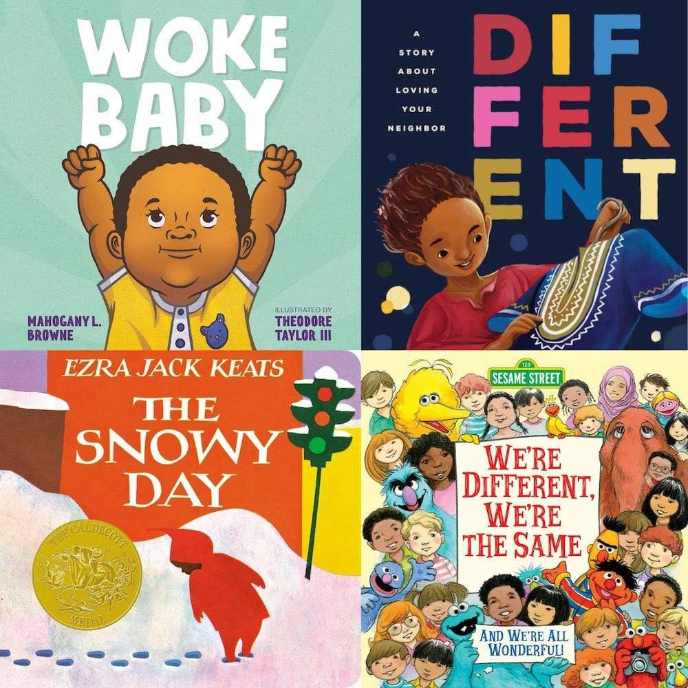 Top 10 holiday gifts for babies and toddlers: Anti racist baby book collection from Natalist | Small Business Holiday Gift Guide