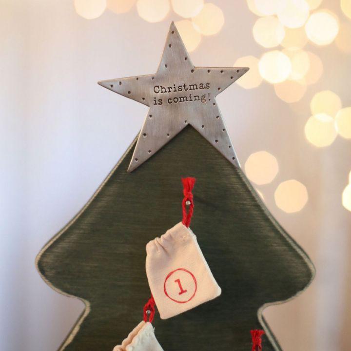 Keepsake ornament Christmas Advent Calendar by Lisa Leonard: How lovely!