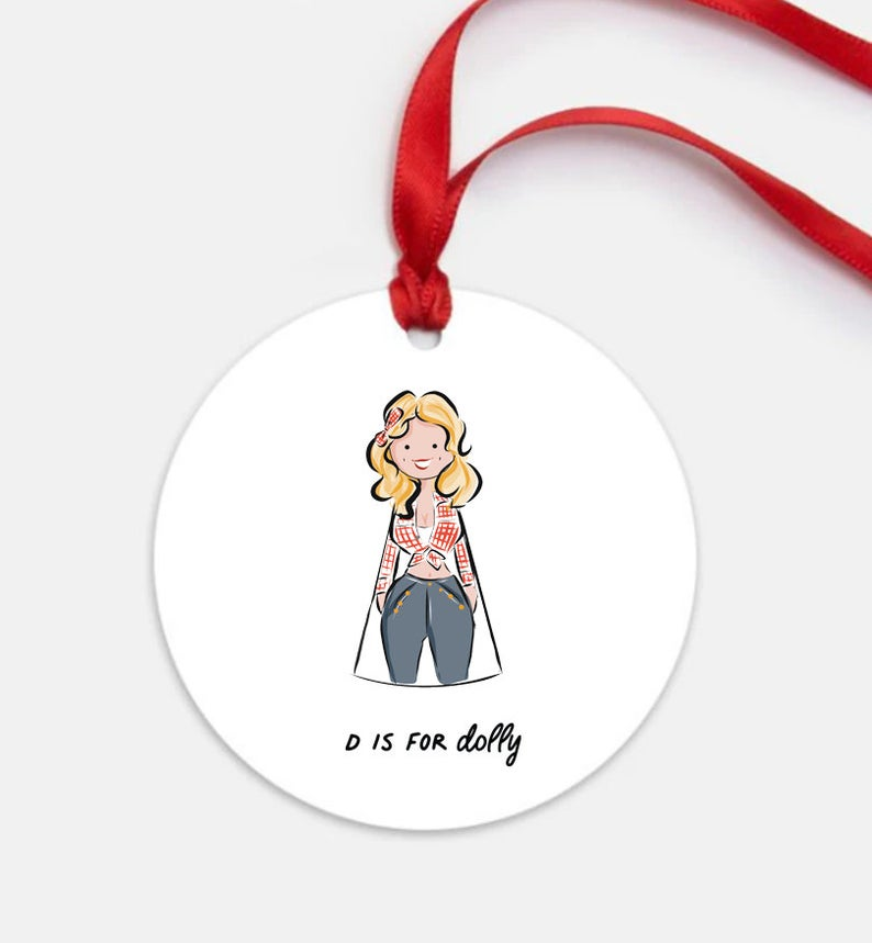 Our top 10 holiday gifts for women in 2020: Dolly Parton ornament from Sophie and Lily | Small Business Holiday Gift Guide