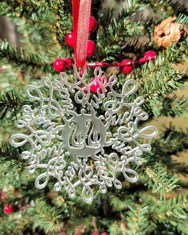 Funny 2020 Ornaments: Presenting, the Fu*kflake at Rustic Revival