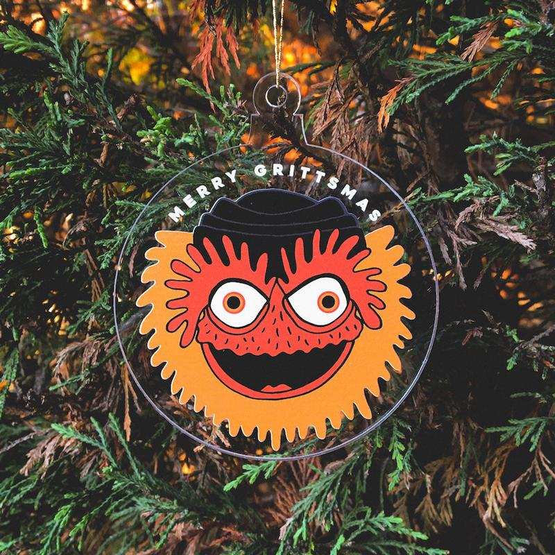 Funny 2020 ornaments: It's the year of Gritty! Whoo, Philadelphia!