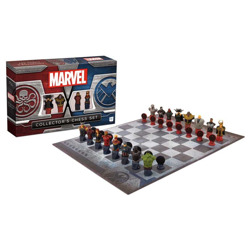 Best gifts for men: Marvel collectors chess set | Small Business Holiday Gifts 2020