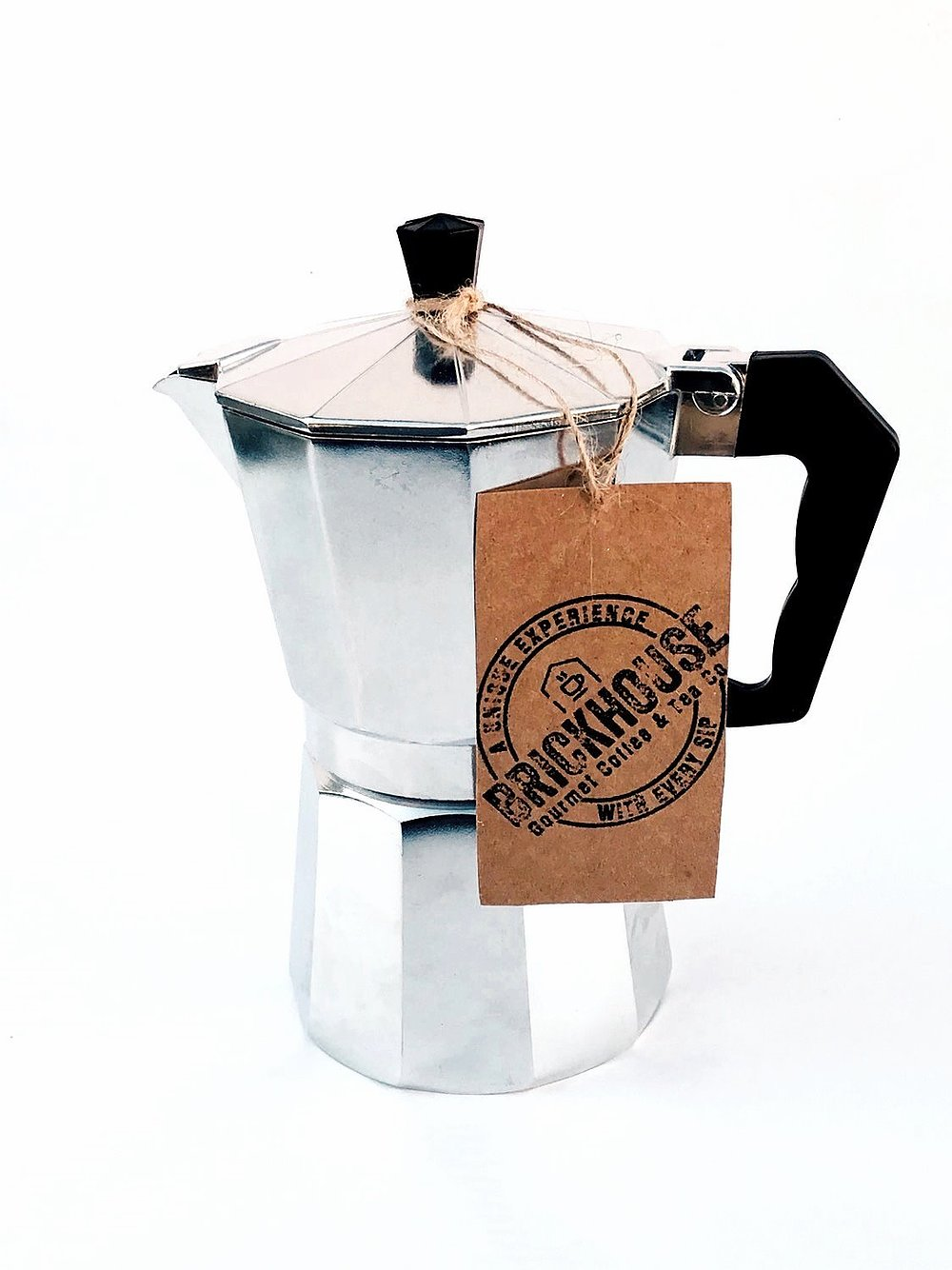 Best gifts for men: Stovetop espresso maker from Brickhouse | Small Business Holiday Gifts 2020