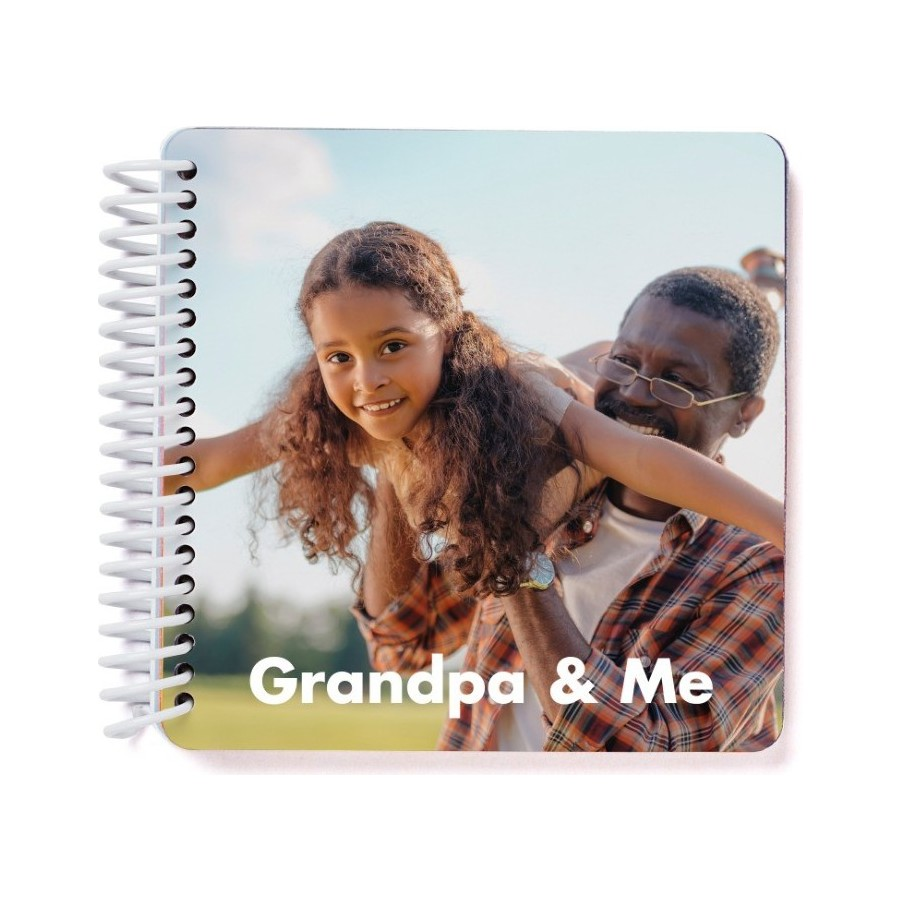 10 best gifts for grandparents from small businesses: Grandma or Grandpa-and-Me photo book from Pinhole Press