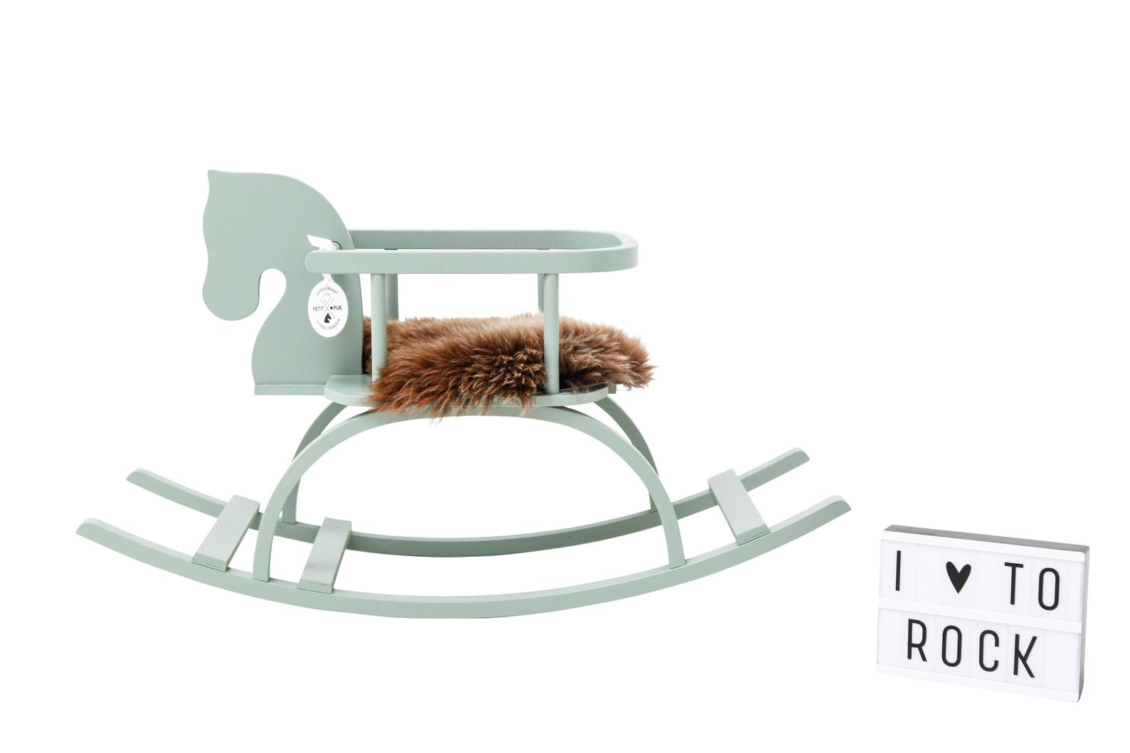 Top 10 holiday gifts for babies and toddlers: Handmade Vintage Style Rocking Horse | Small Business Holiday Gift Guide 2020