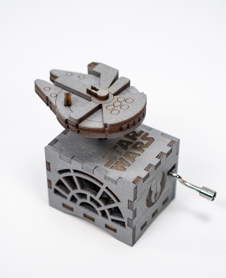10 best baby and toddler holiday gifts from small businesses: Handmade Star Wars music box | Small Business Holiday Gift Guide 2020