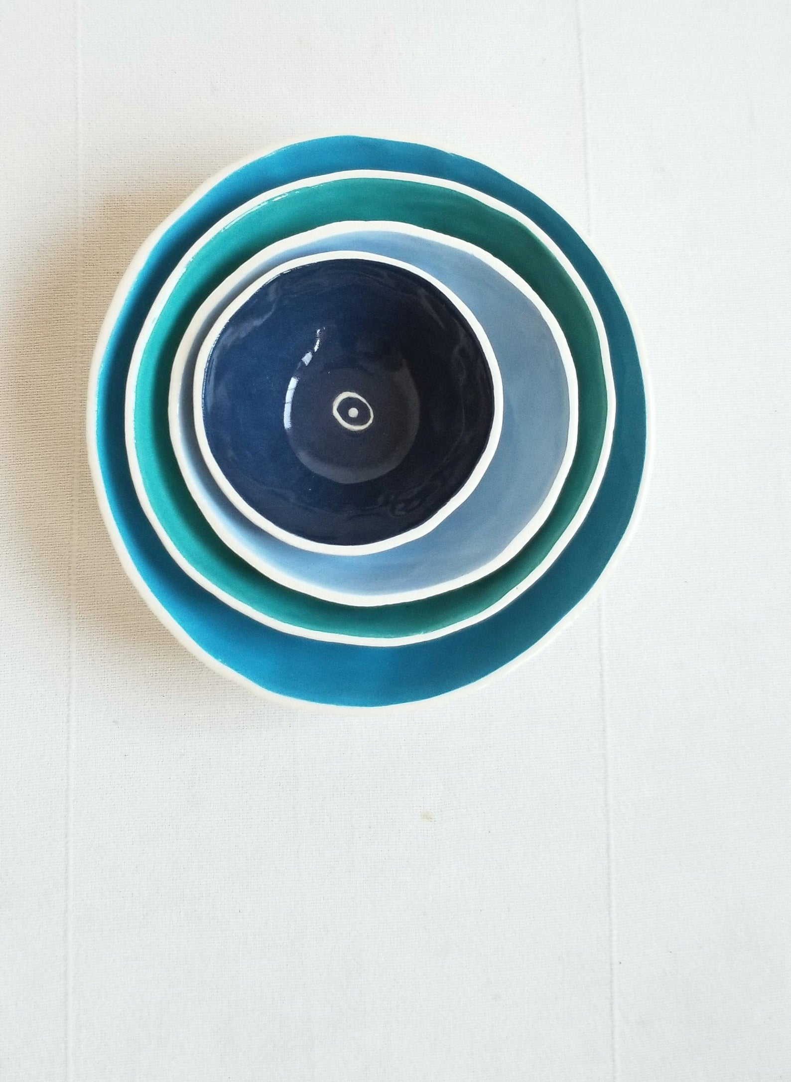 Best Hanukkah gifts from small businesses: This Handmade nesting bowl set is beautiful