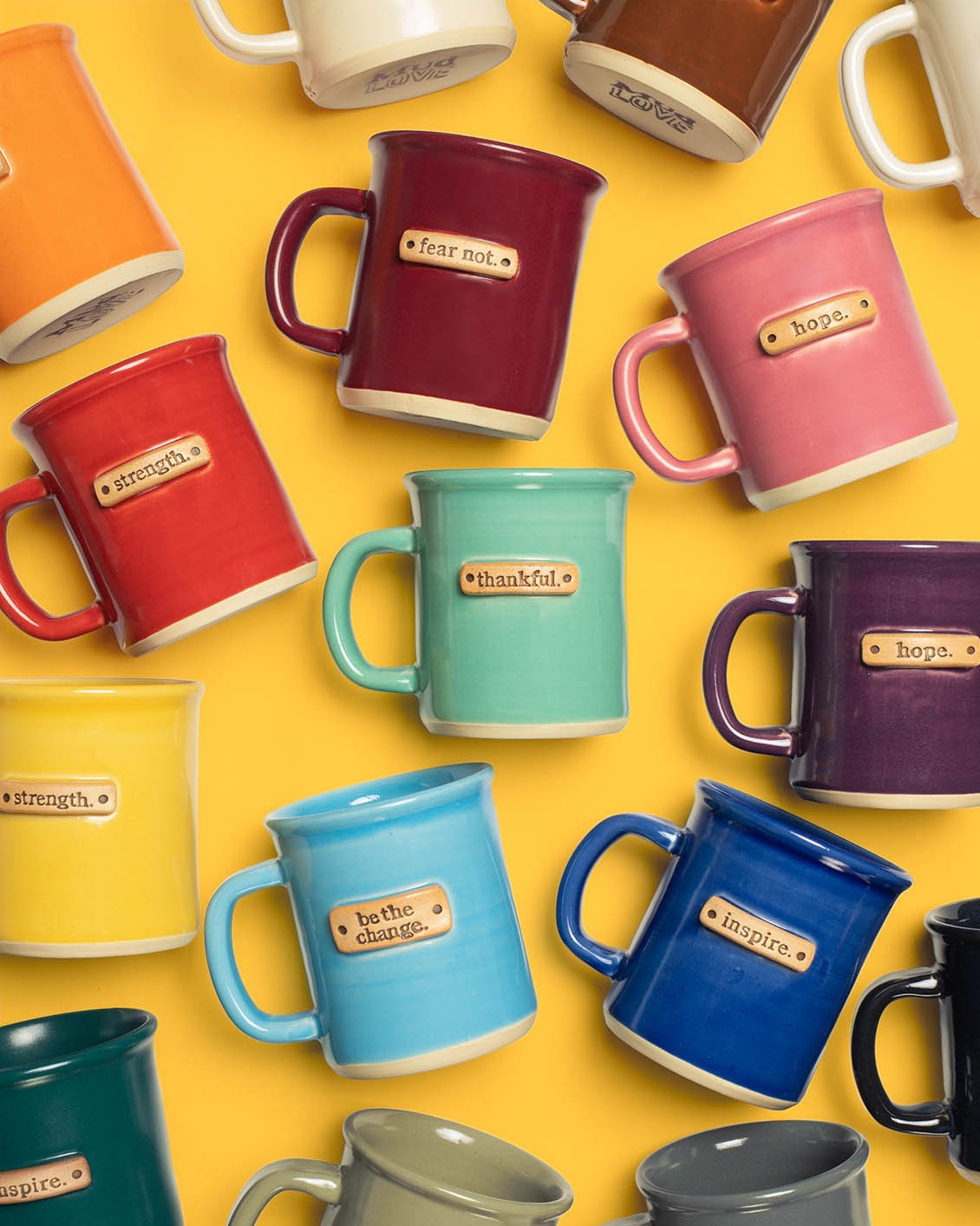 Our top 10 holiday gifts for women in 2020: Mudlove's inspiring one-word mugs | Small Business Holiday Gift Guide