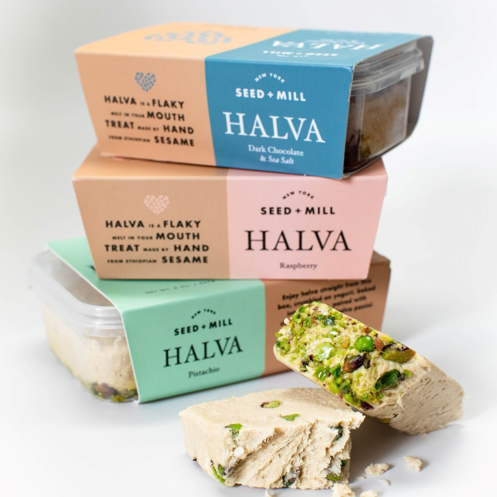 Best Hanukkah gifts from small businesses: Seed & Mill Halva Trio Gift Box