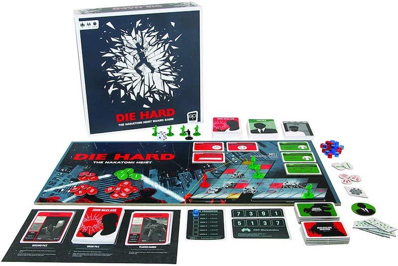 80s movie board games: Die Hard: Nakatomi Heist