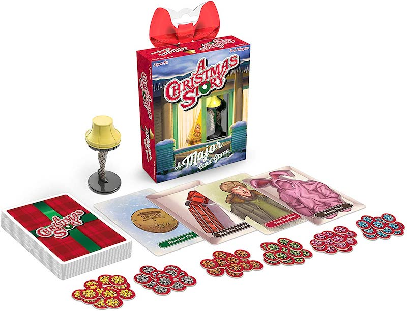 80s movie board games: A Christmas Story quick and fun card game for families.