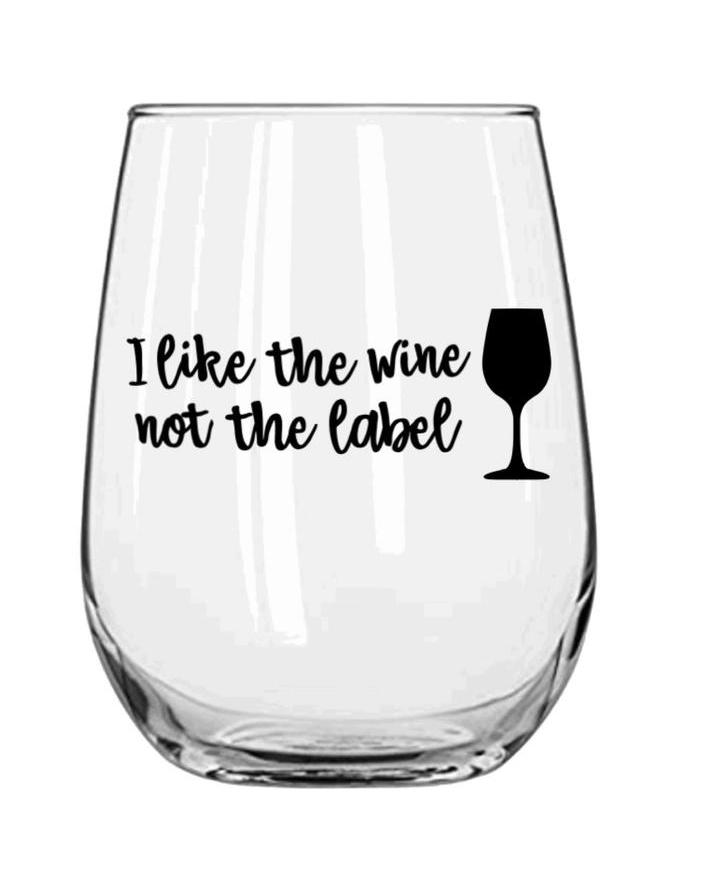 Grab a great Schitt's Creek wine glass for a gift like this one from Three Wishes by Jeannie