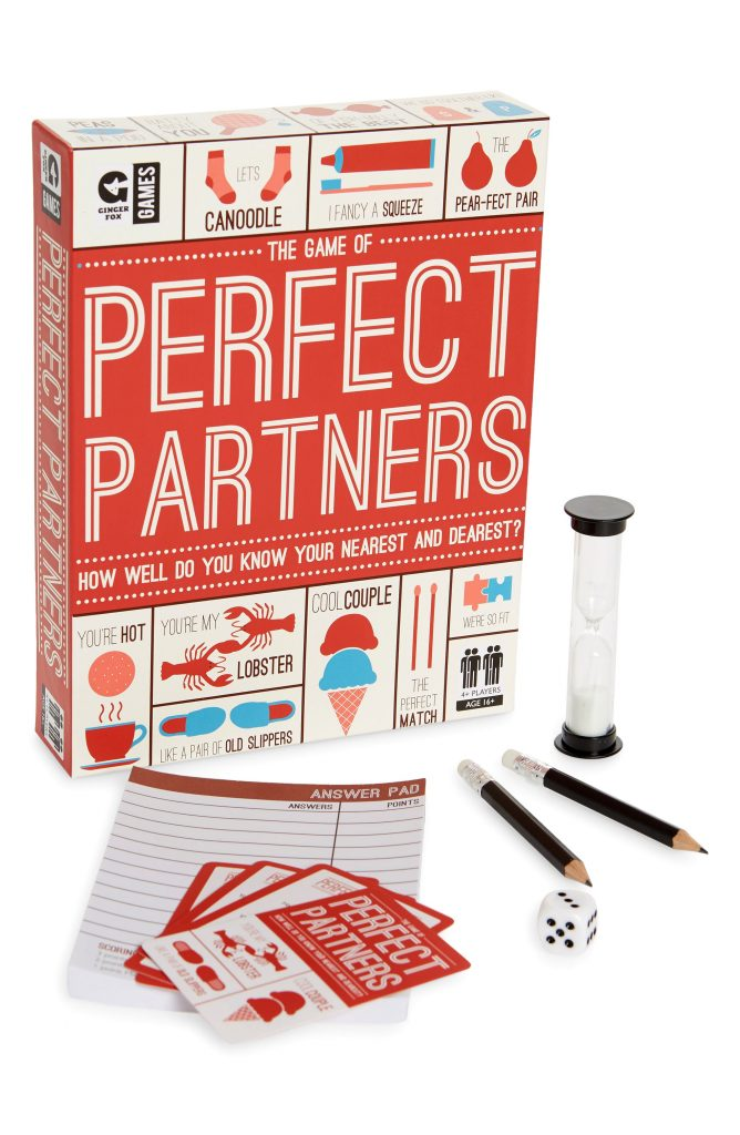 50+ cool gifts under $15 for men and women: Perfect Partners adult and game for couples