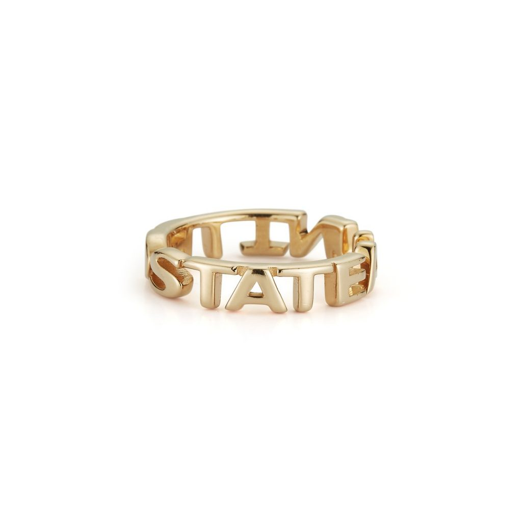 A United State ring by Tali Gilette: Political gifts for women