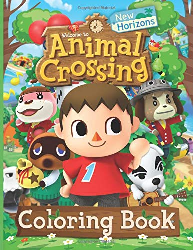 Animal Crossing, Roblox, or Fortnite Coloring Books: Cool gifs for kids under $15