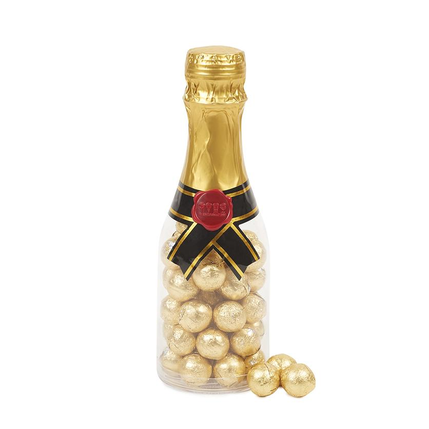 50+ cool gifts under $15 for men and women: Champagne bottle of chocolate from Dylan's Candy Bar